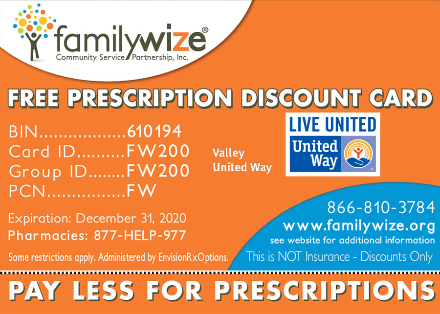whether you are insured or uninsured show the card and get the best price familywize - Best Prescription Discount Card
